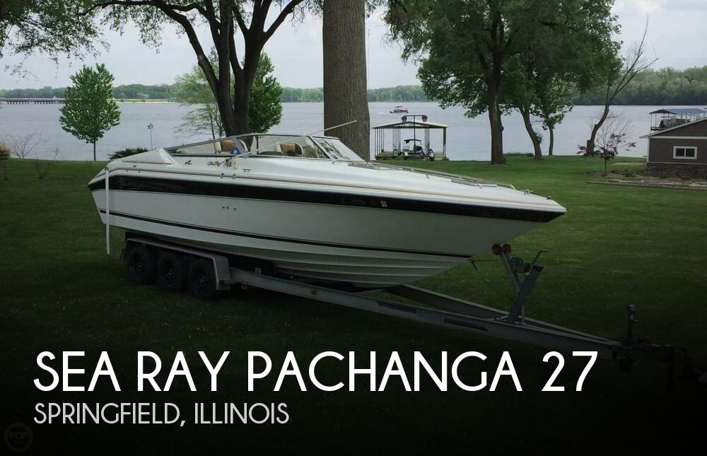 Used Boats For Sale in Springfield, Illinois by owner | 1989 Sea Ray 27