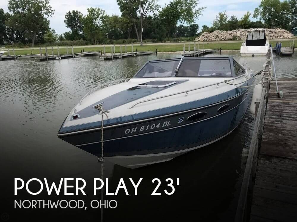 Used Power Play Boats For Sale by owner | 1988 Power Play 23