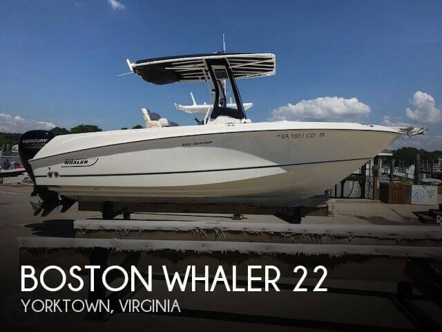 Used Boats For Sale in Virginia Beach, Virginia by owner | 2015 Boston Whaler 22
