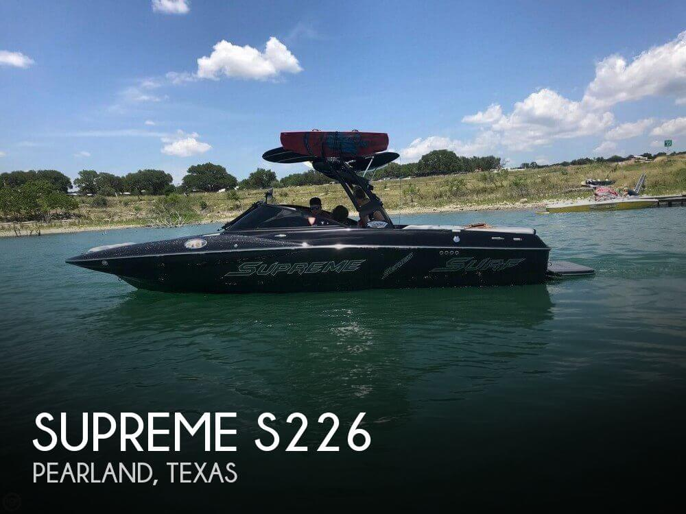 Used Supreme Boats For Sale by owner | 2017 Supreme 23