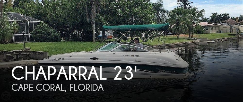Used Chaparral 23 Boats For Sale by owner | 1999 Chaparral 23