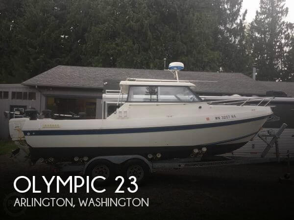Used Olympic Boats For Sale by owner | 1990 Olympic 23