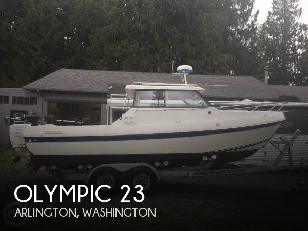 1990 OLYMPIC BOAT CO 23 for sale