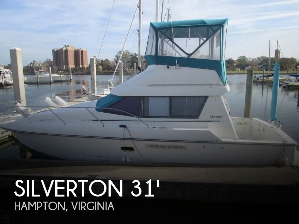 Used Silverton Fishing boats For Sale by owner | 1993 Silverton 31