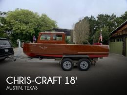 1935 Chris-Craft 18 Utility