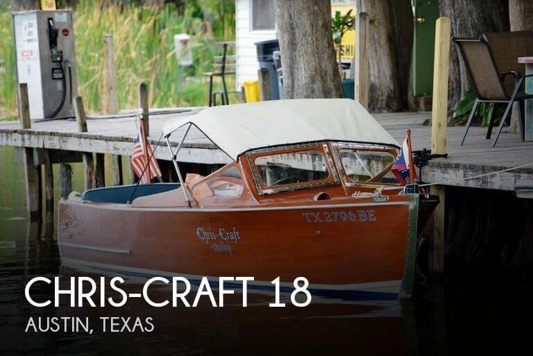 Used Chris Craft Ski Boats For Sale by owner | 1942 Chris-Craft 18