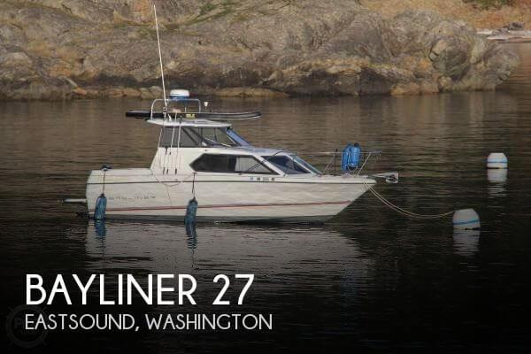 Used Bayliner Boats For Sale in Washington by owner | 1993 Bayliner 27