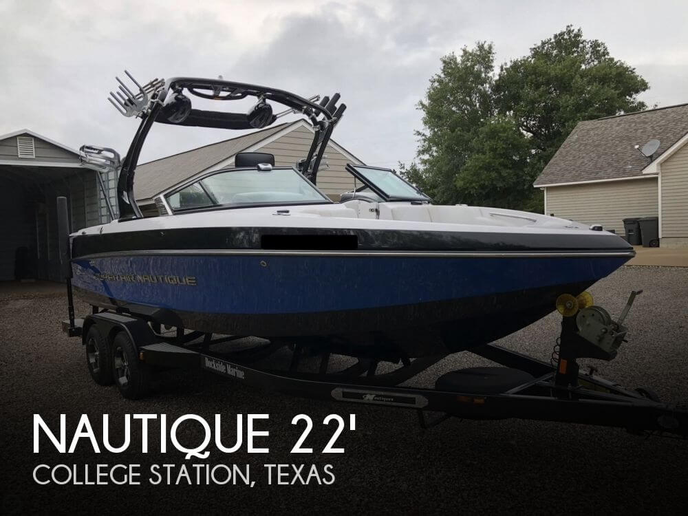 Used Nautique Boats For Sale by owner   2010 Nautique 226 Crossover