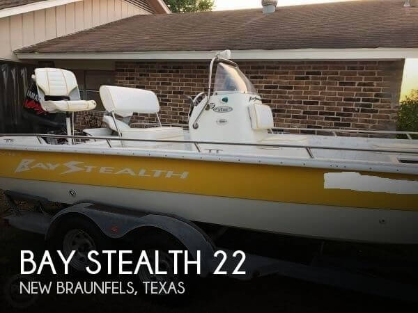 Used Bay Stealth Boats For Sale by owner | 2004 Bay Stealth 22