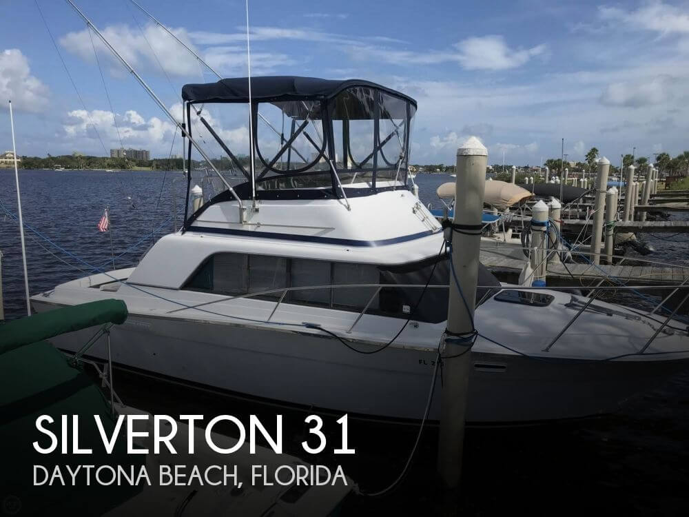Used Fishing boats For Sale in Deltona, Florida by owner | 1979 Silverton 31