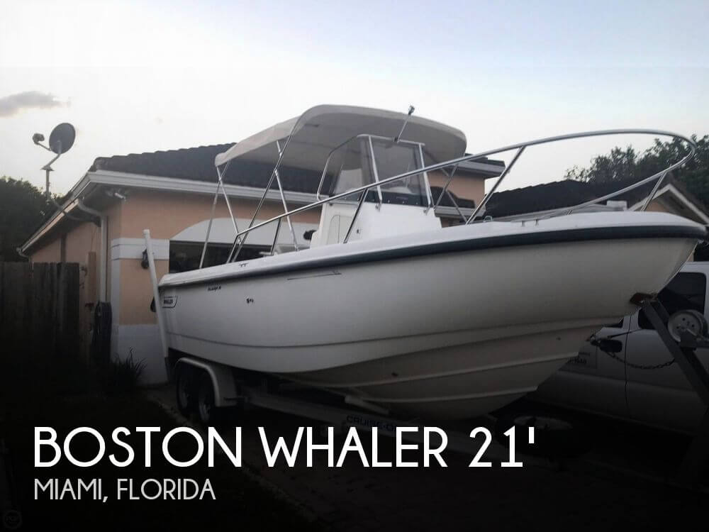 Used Boston Whaler Boats For Sale in Miami, Florida by owner | 2000 Boston Whaler 21