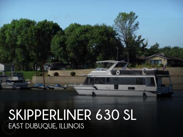Used Houseboats For Sale in Illinois by owner | 1991 Skipperliner 63