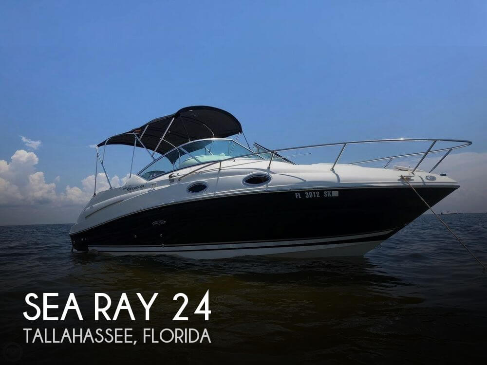 Used Boats For Sale in Tallahassee, Florida by owner | 2007 Sea Ray 24