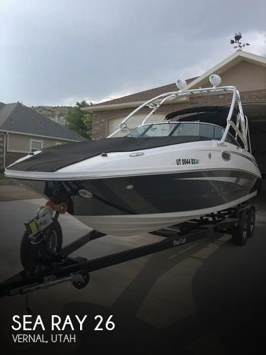 Used Sea Ray Deck Boats For Sale by owner | 2012 Sea Ray 26