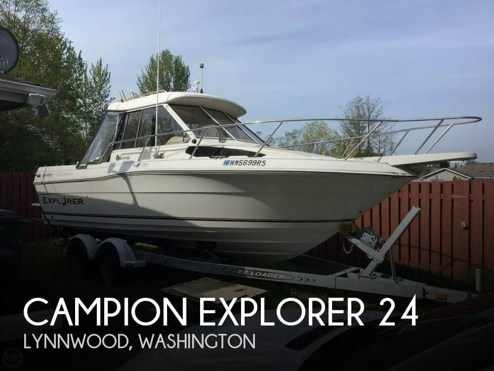 Used Campion  Boats For Sale by owner | 1999 Campion Explorer 24