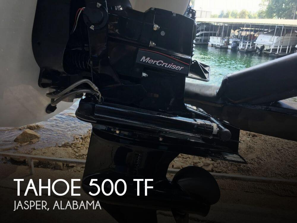 2018 Tahoe boat for sale, model of the boat is 500 TF & Image # 1 of 40