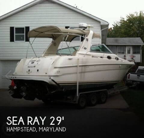 Used Boats For Sale in Harrisburg, Pennsylvania by owner | 2001 Sea Ray 29