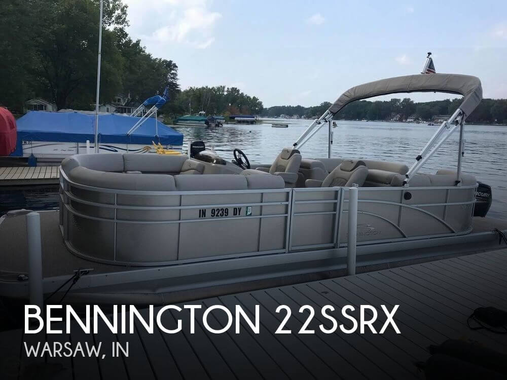 Used Boats For Sale in Fort Wayne, Indiana by owner | 2017 Bennington 22SSRX