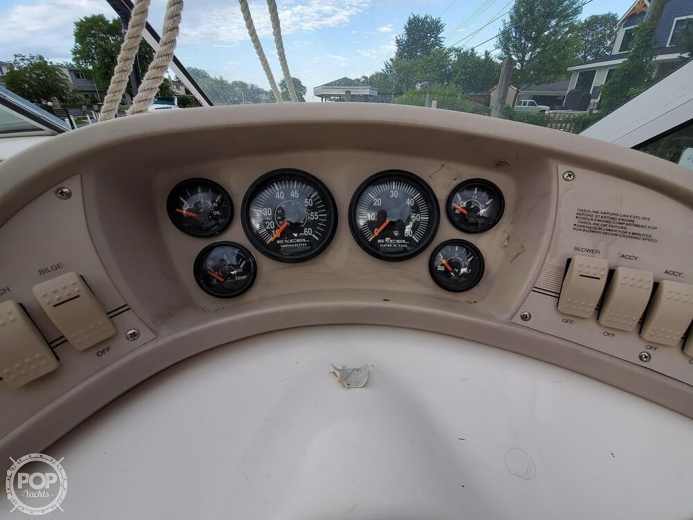 1996 Wellcraft boat for sale, model of the boat is 260 SE & Image # 30 of 40