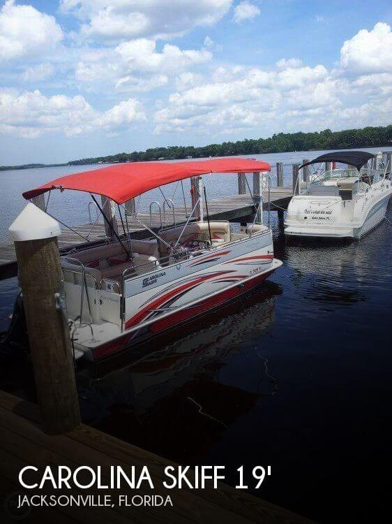 Used Deck Boats For Sale by owner | 2012 Carolina Skiff 19