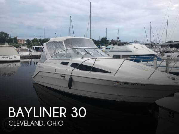 Used Bayliner Boats For Sale in Ohio by owner | 1997 Bayliner 30