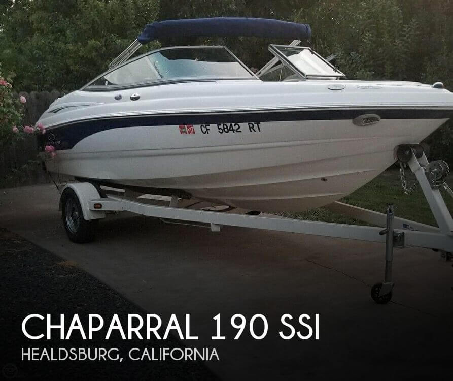 Used Chaparral Boats For Sale in California by owner | 2005 Chaparral 19