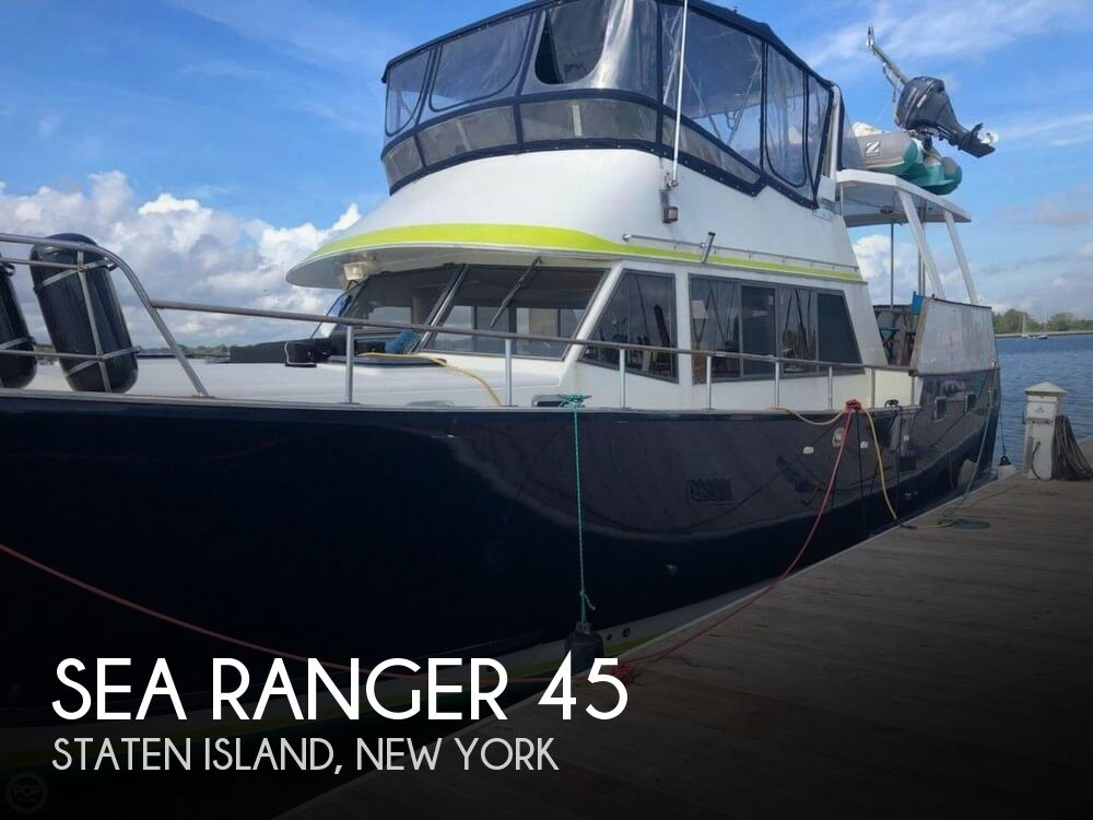 Used Boats For Sale in Philadelphia, Pennsylvania by owner | 1986 Sea Ranger 45
