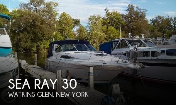 Used Boats For Sale in Binghamton, New York by owner | 1990 Sea Ray 30
