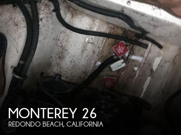 Used Monterey Boats For Sale in California by owner | 1999 Monterey 26