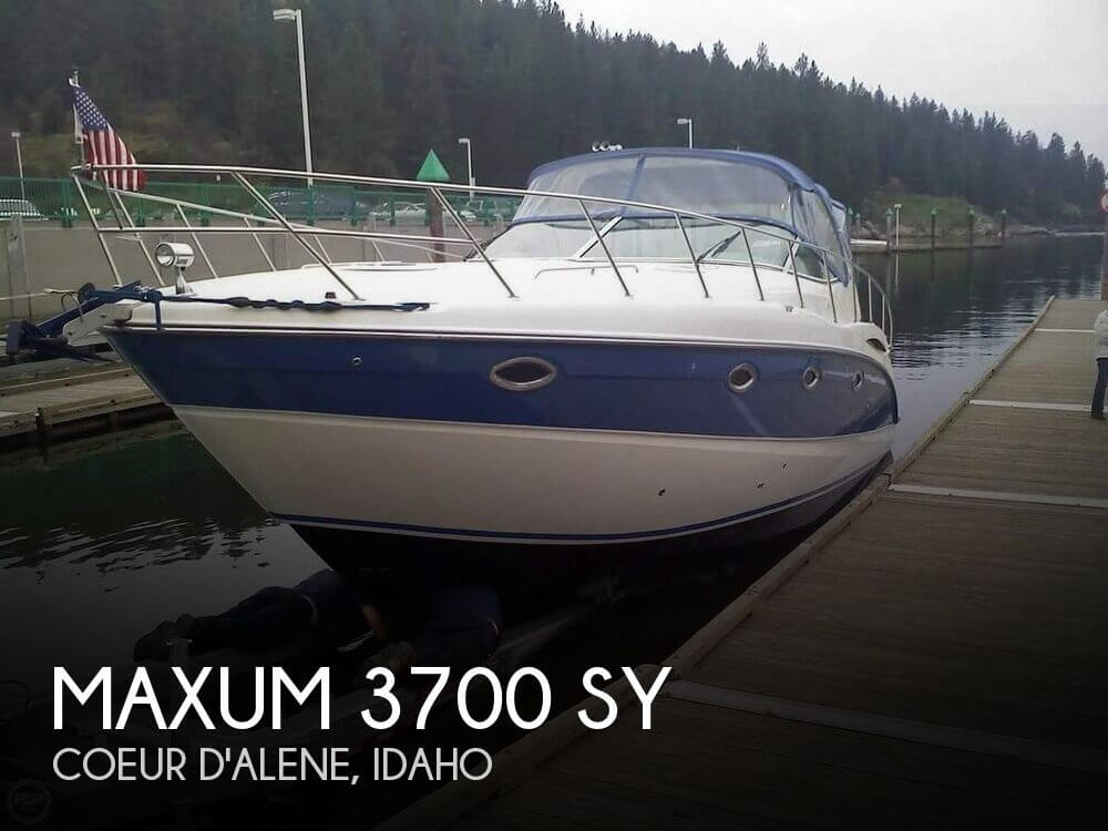 Used 37 Boats For Sale by owner | 2006 Maxum 37