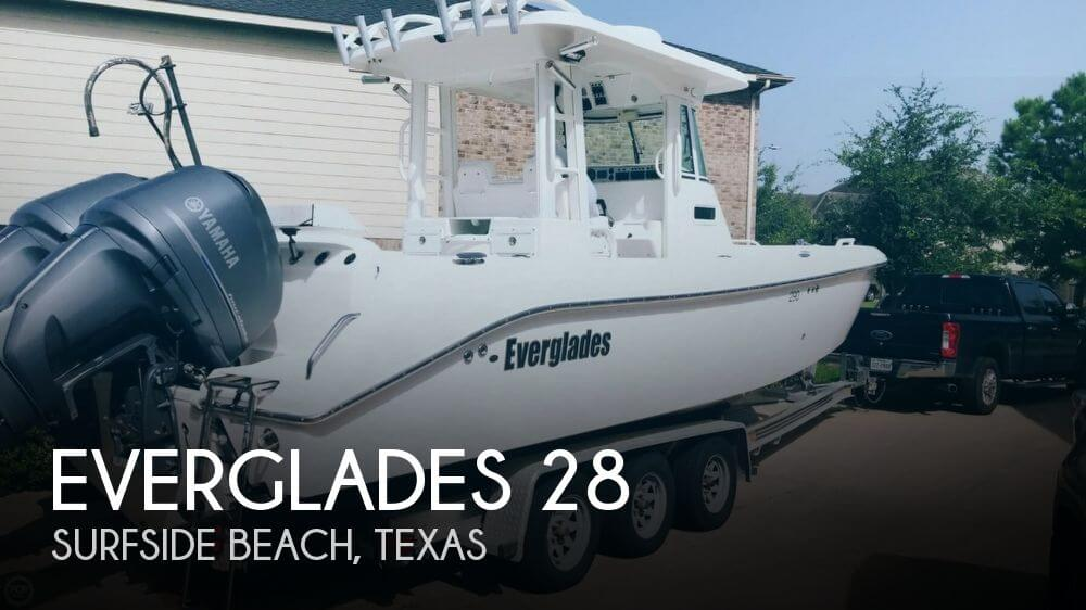 Used 28 Boats For Sale by owner | 2005 Everglades 28