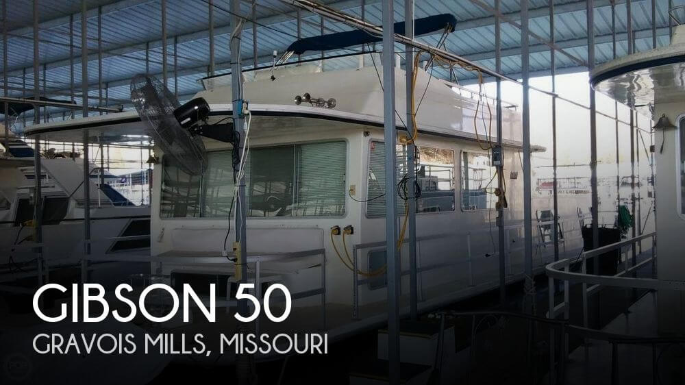 Used Houseboats For Sale in Missouri by owner | 1985 Gibson 50