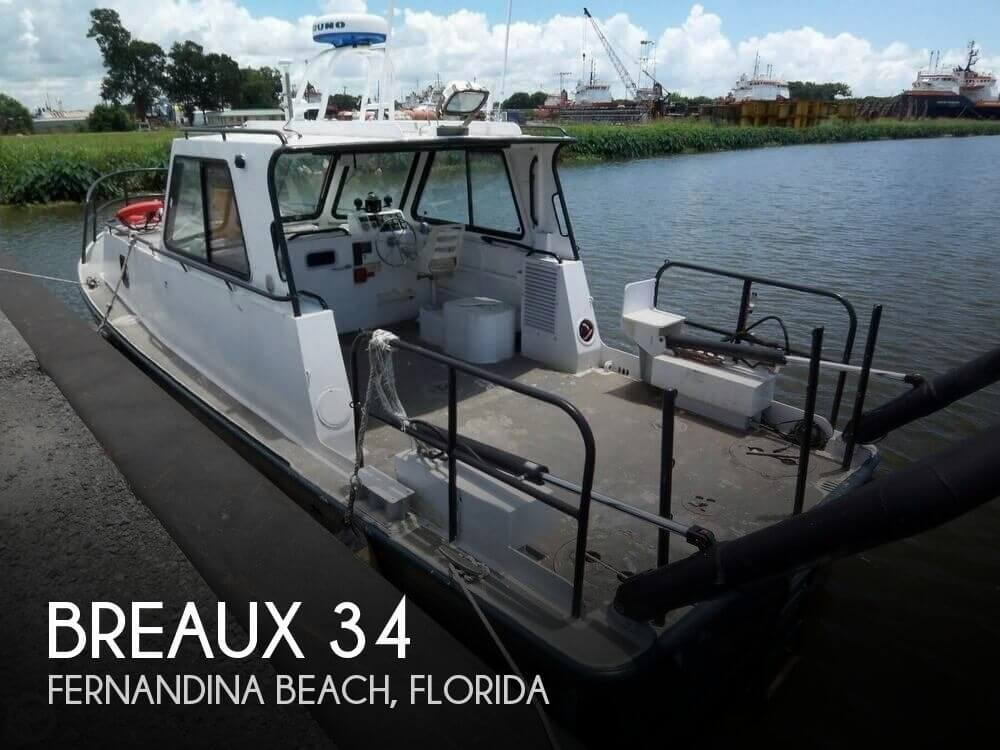 Used Boats For Sale in Jacksonville, Florida by owner | 2004 Breaux 34