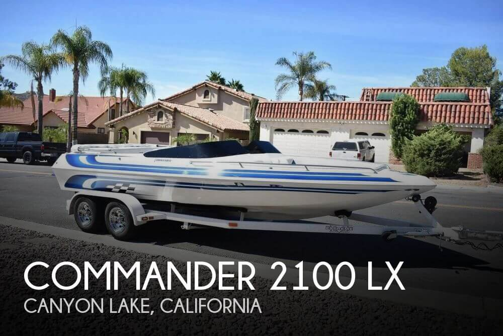 Used Commander Boats For Sale by owner | 2000 Commander 21