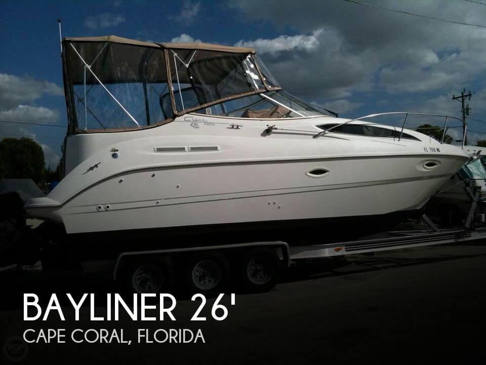 Used Bayliner Boats For Sale by owner | 2001 Bayliner 26
