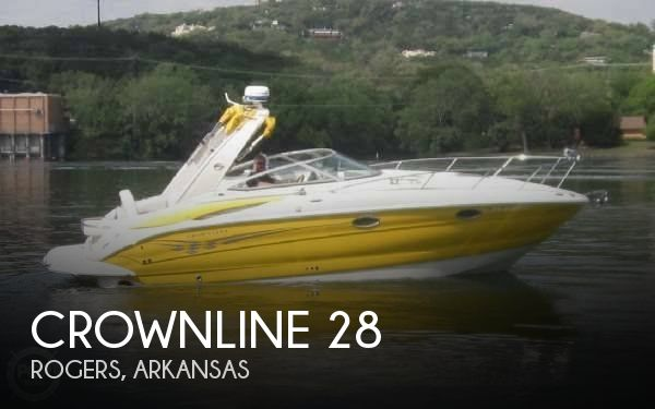 Used Boats For Sale in Springfield, Missouri by owner | 2006 Crownline 28