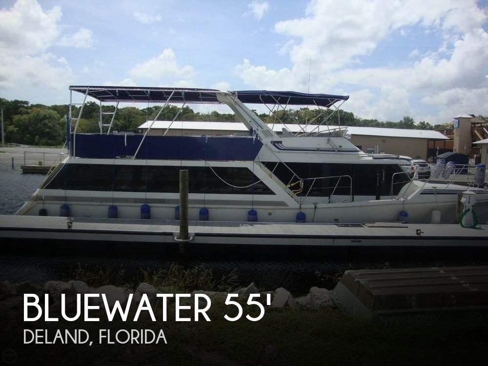 Used Boats For Sale in Orlando, Florida by owner | 1989 Bluewater 55