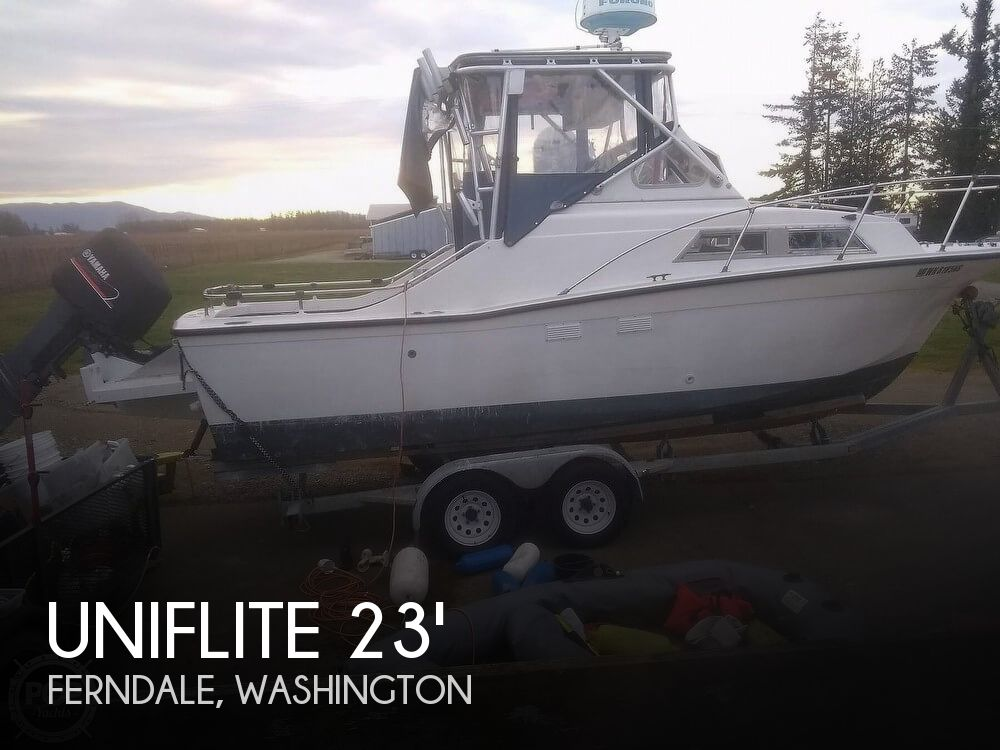 Used Ski Boats For Sale by owner | 1972 Uniflite 23