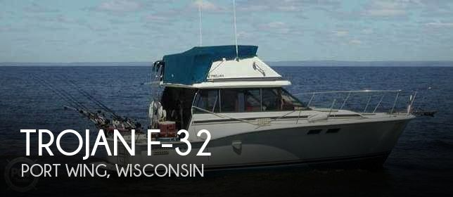 Used Boats For Sale in Duluth, Minnesota by owner | 1986 Trojan 32