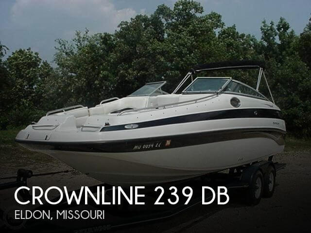 Used Crownline Deck Boats For Sale by owner   2003 Crownline 23
