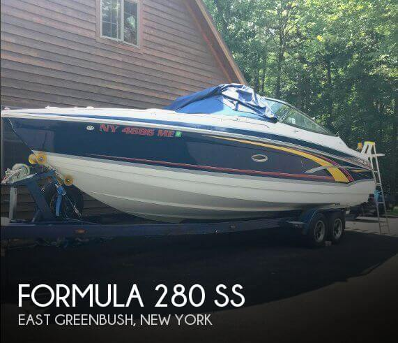 Used Boats For Sale in Albany, New York by owner | 2007 Formula 28