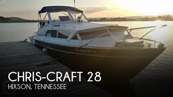 Used Boats For Sale in Chattanooga, Tennessee by owner | 1972 Chris-Craft 28