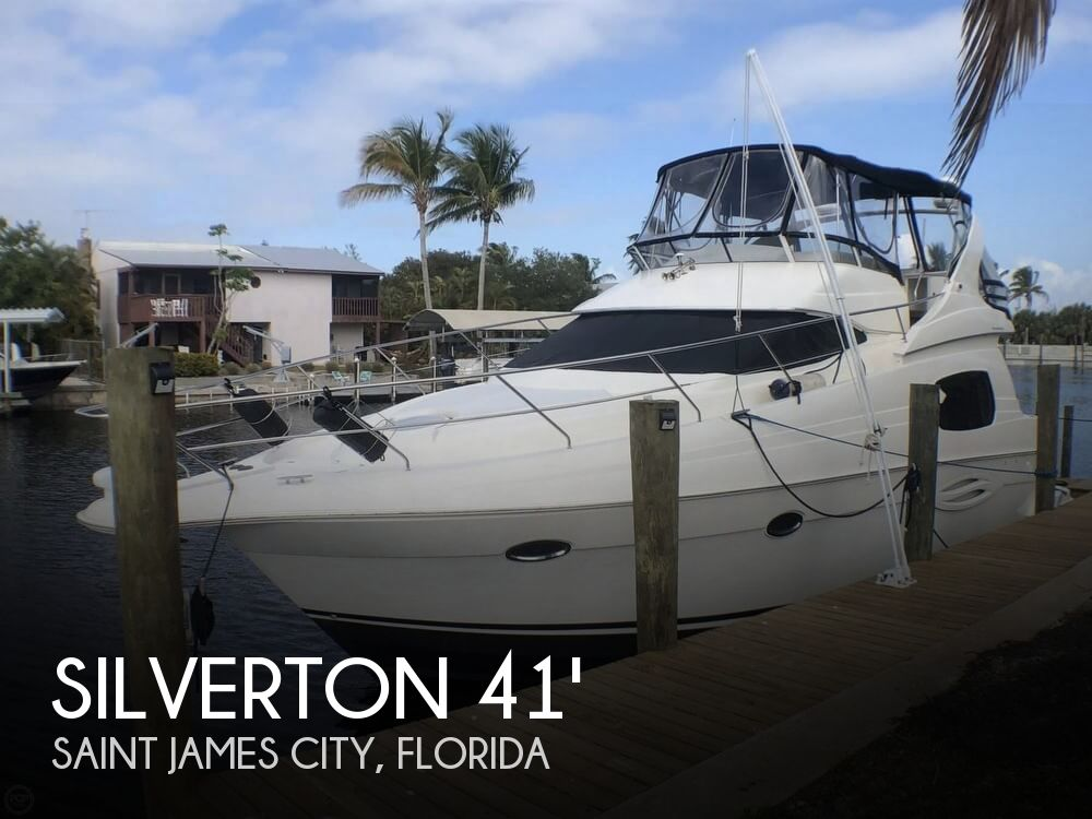 Used Motoryachts For Sale in Florida by owner | 2003 Silverton 410 Sport Bridge