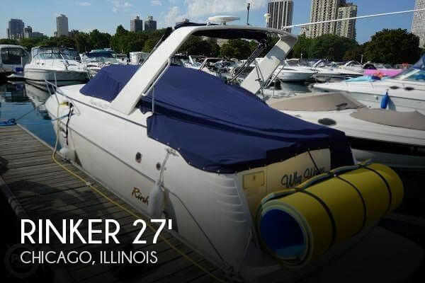 Used Rinker Boats For Sale in Illinois by owner | 2001 Rinker 27