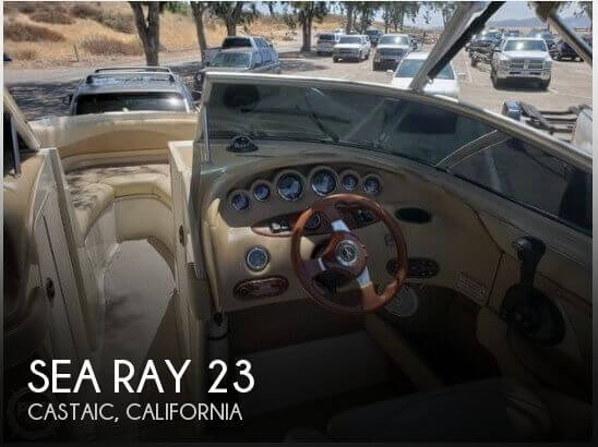 Used Sea Ray Boats For Sale in Oxnard, California by owner | 2001 Sea Ray 23