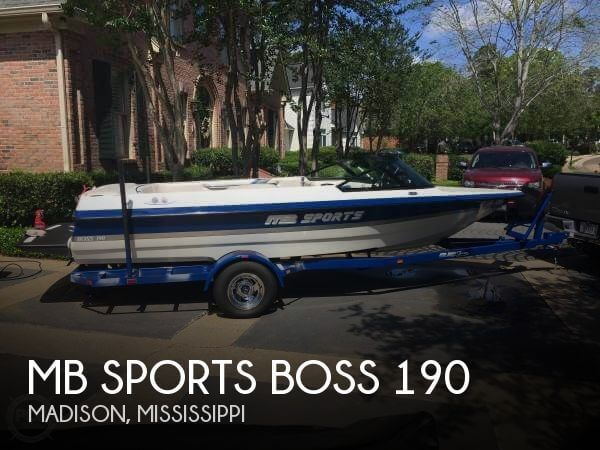 Used MB Sports Boats For Sale by owner | 2000 MB Sports 19