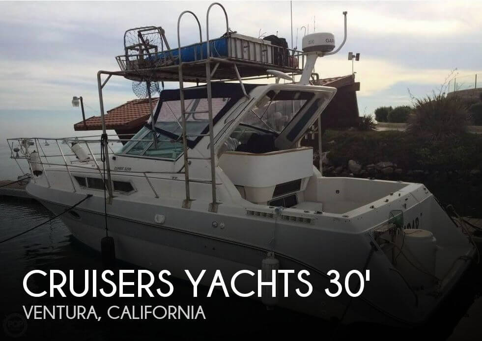 Used Fishing boats For Sale in Oxnard, California by owner | 1989 Cruisers Yachts Esprit 3270