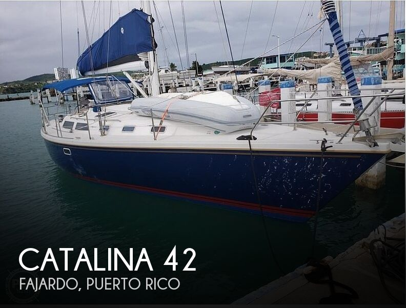 1992 Catalina Yachts boat for sale, model of the boat is 42 Wing Keel & Image # 1 of 18