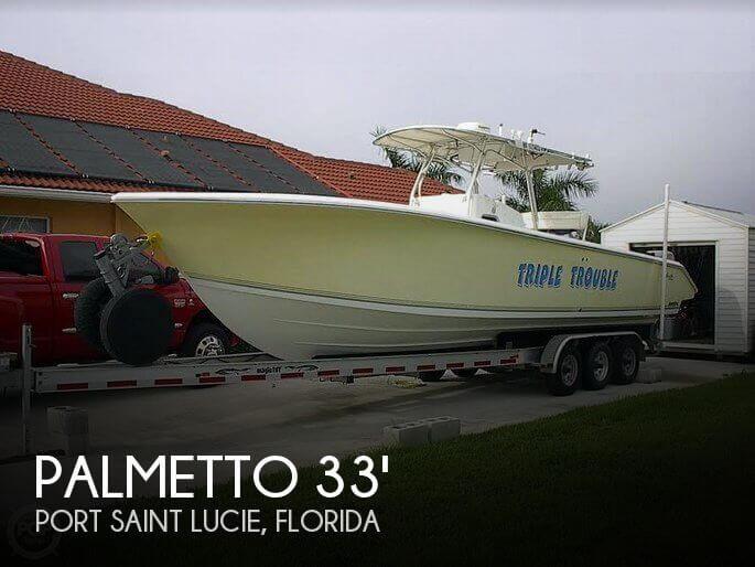 Used Palmetto Boats For Sale in Florida by owner | 2005 Palmetto 33