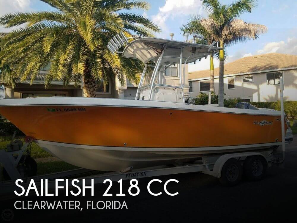 Used Sailfish Boats For Sale by owner | 2007 Sailfish 22